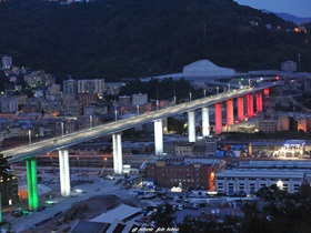 Ponte di Genova_Pilkington Optiwhite - Genoa Bridge