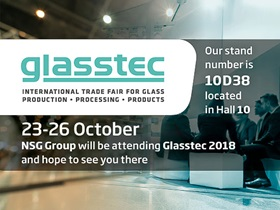 NSG Group espone a Glasstec