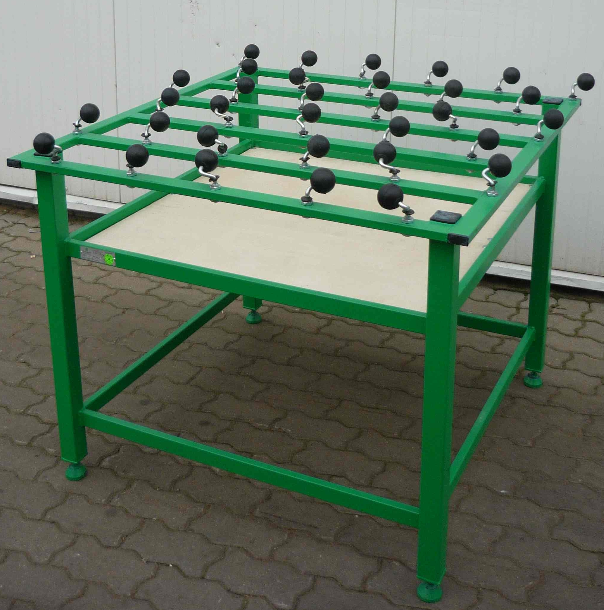 table to operating glass