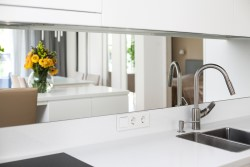 Mirropane Chrome Kitchen