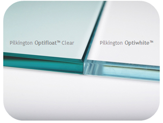 Pilkington Optiwhite™ low iron extra clear glass product comparison