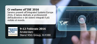 NSG Group all'ISE 2016