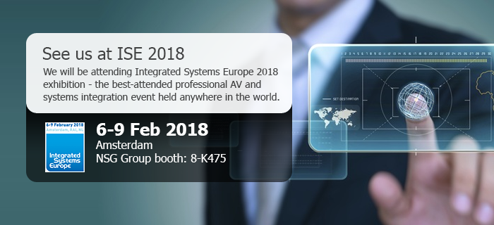 ISE 2018 Banner