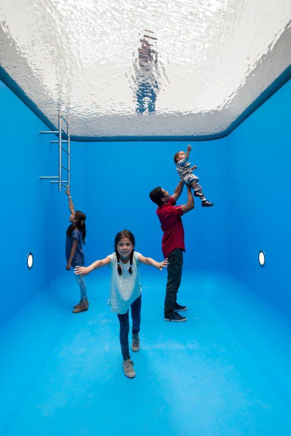 Bijzonder Glazen Zwembad In Museum Voorlinden