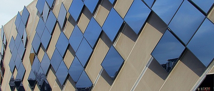 Pilkington Spandrel Glass Laminated